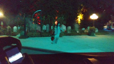 Zombies on the back lot