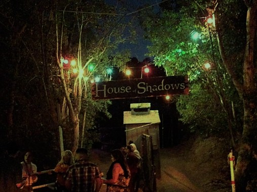 Los Angeles Haunted Hayride 2017 House of Shadows entrance 2