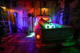 Reign of Terror Haunted House Infected truck