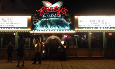 Santa Monica Zombie Crawl Rusty's