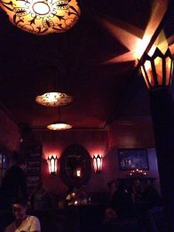 West Hollywood Haunted Pub Crawl: Trocadero Lounge interior