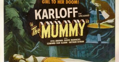The Mummy (1932) poster horizontal