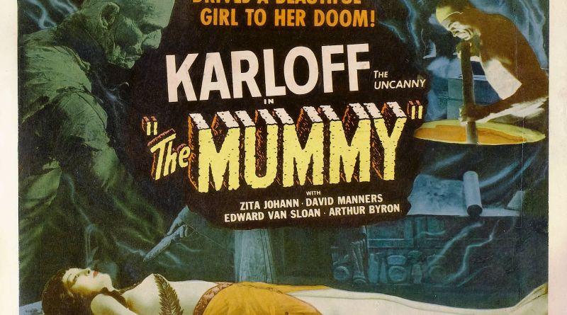 The Mummy (1932) poster horizontal