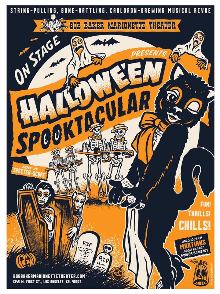 Halloween Spooktacular at Bob Baker Marionette Theatre | Hollywood ...