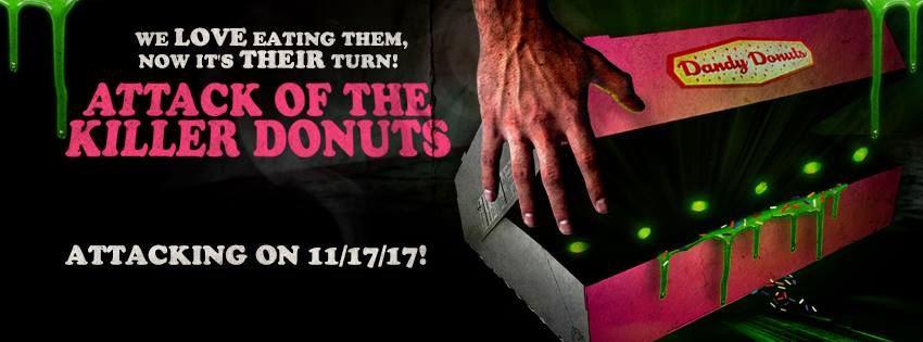 Attack of the Killer Donuts ad