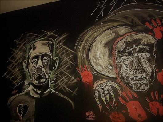 Frankenstein and the Wolf Man