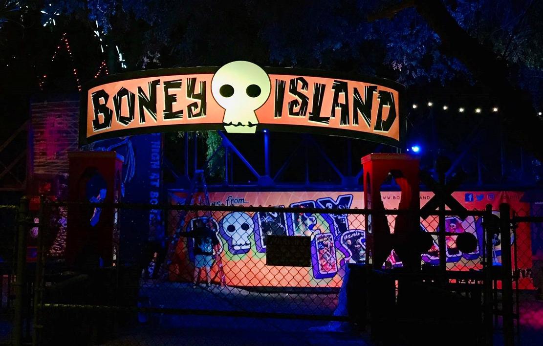 Boney Island 2018 pirate area