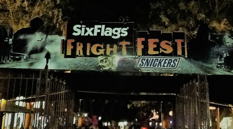Six Flags Magic Mountain Fright Fest 2018 Review