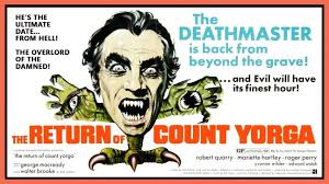 return of count yorga review poster