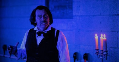 Force of Nature Edgar Allan Poe Review Duffy Hudson photo by Carlos R. Hernandez