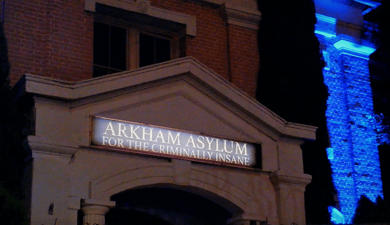 Horror Made Here 2018 Arkham Asylum maze