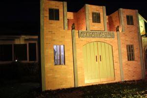 Steamtown Gotham yard haunt