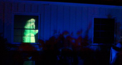 Van Oaks Cemetery 2018 haunted window 2