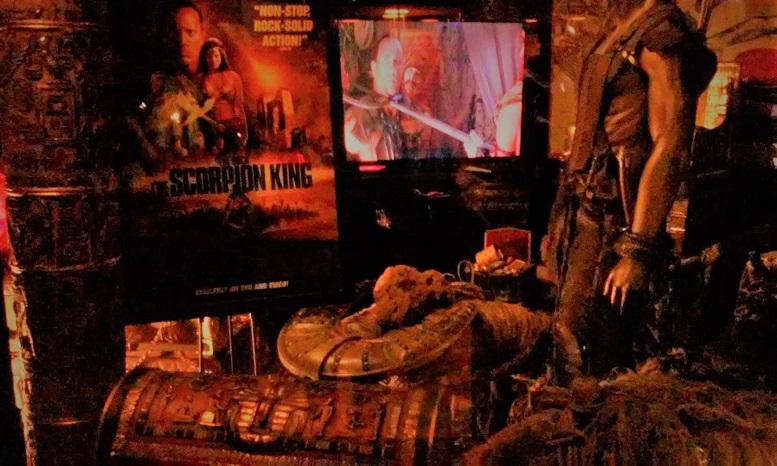 Hollywood Museum Monsters Mummies & Mayhem: Scorpion King