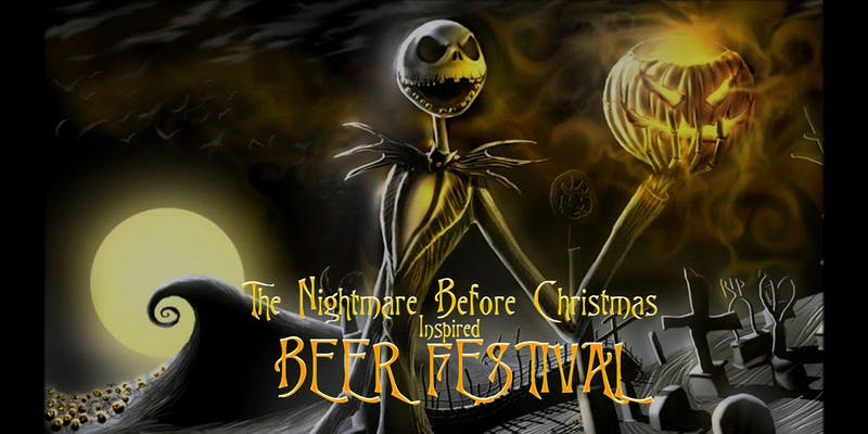 Nightmare Before Christmas Beer festival