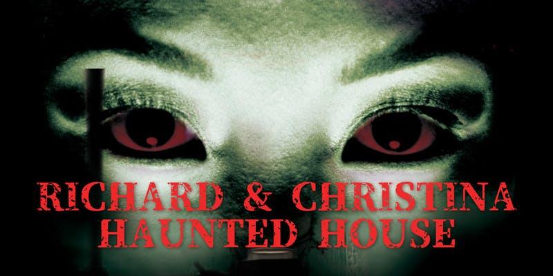 Richard and Christina's Haunted House 2018 ad
