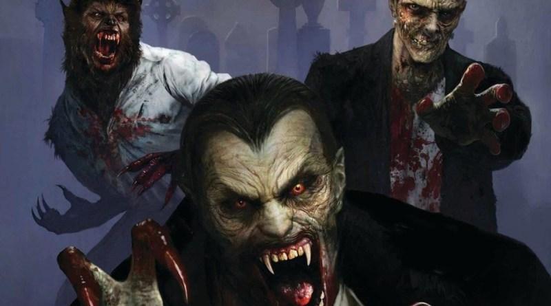 Universal Monsters artwork 2018