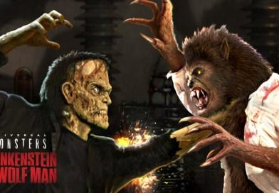 Frankenstein Meets the Wolfman at HHN 2019