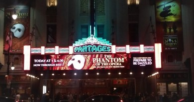 Phantom haunting the Pantages
