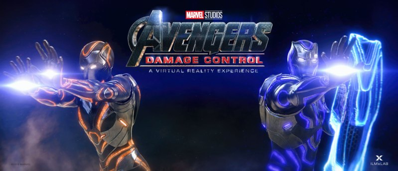 The Void Avengers Damage Control Virtual Reality