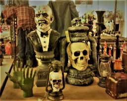 Props on sale in the store