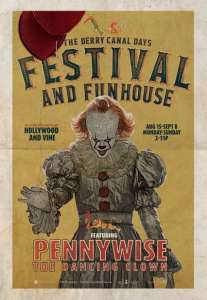IT: Derry Festival and Funhouse poster