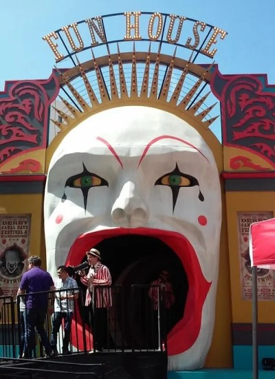 The Derry Canal Days Funhouse Entrance