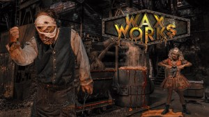Knott' Scary Farm 2019 Interview Waxworks
