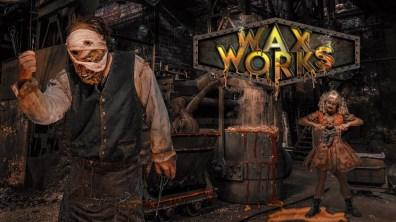 Knott' Scary Farm 2019 Interview Waxworks