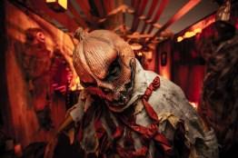 Knott's Scary Farm - Pumpkin Eater - Pumpkin Head Monster