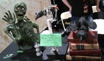 Midsummer Scream 2019 Review: animatronic raven