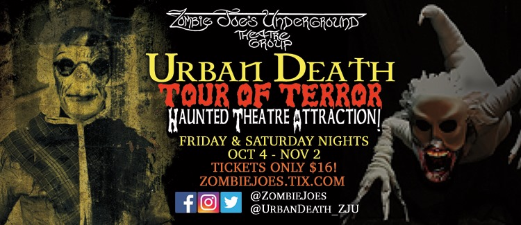 Urban Death Tour of Terror 2019