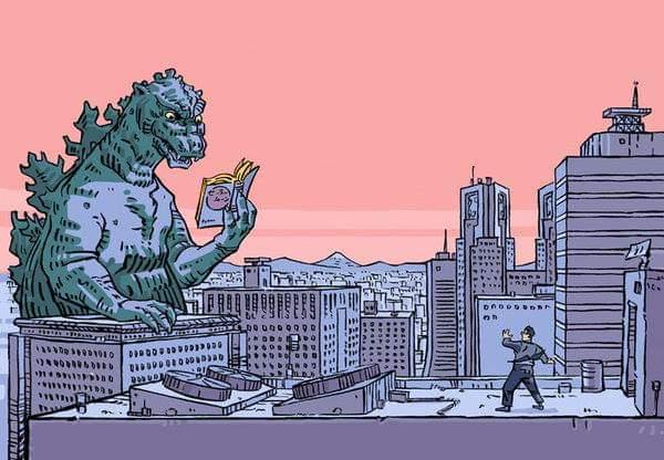 Godzilla's 65th Birthday West Valley Regional Branch Public Library
