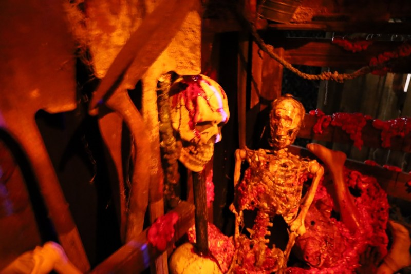 Wendigo haunted house review
