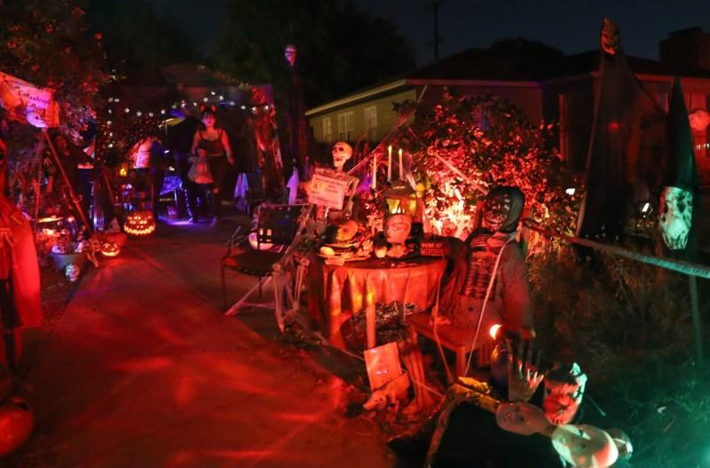 Catastrophe Cabin yard haunt 2019