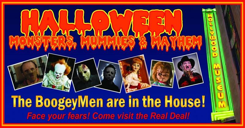 Hollywood Museum Monsters Movies Mahyem