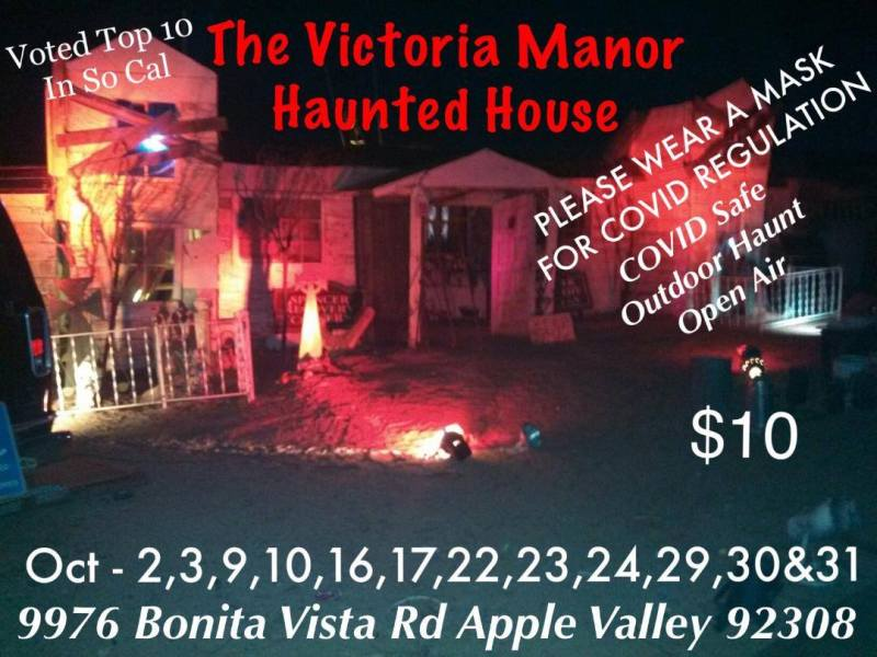 High Desert Haunted House 2020 Dates