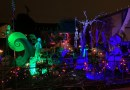 Nightmare Before Christmas yard haunt