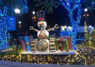 Gleampunk Snowman