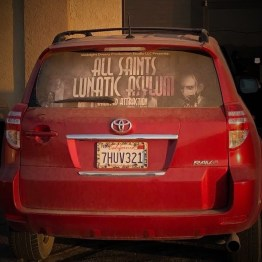 All Saints Lunatic Asylum promo car