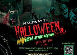 All Saints Lunatic Asylum Halfway to Halloween