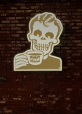 Rad Coffee mascot