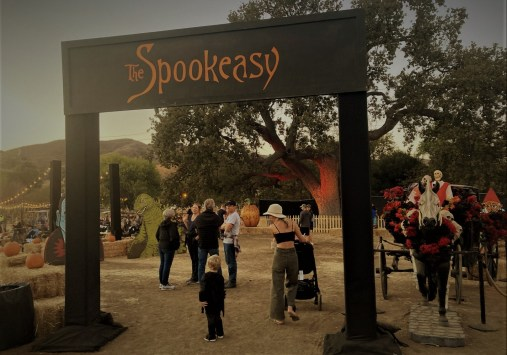 Entrance to the Spookeasy