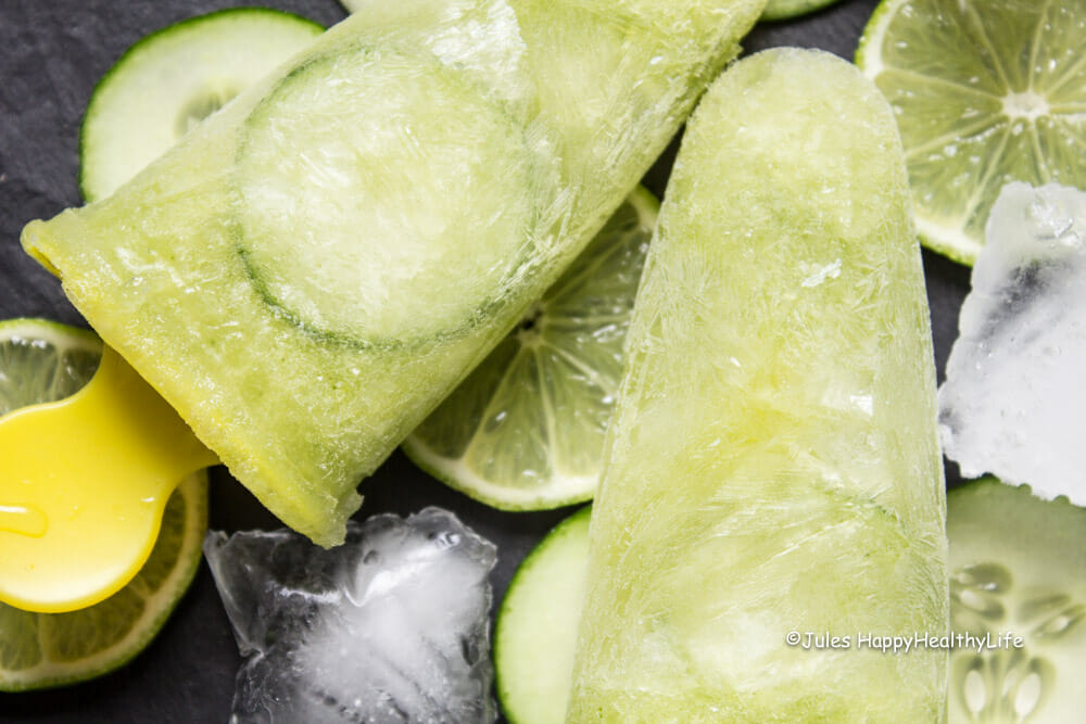 Recipe for Tonka Gin Tonic Popsicle