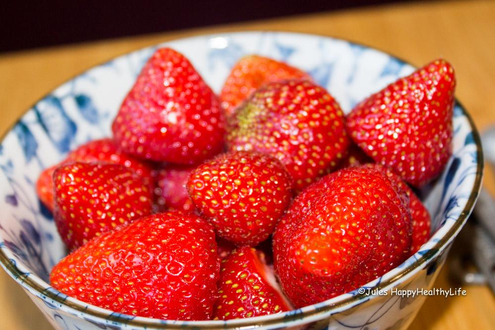 Erdebeeren für Erdbeeren Chiamarmelade