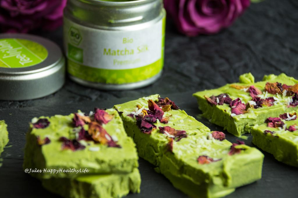 Matcha Cheesecake glutenfrei, vegan in Bio Qualität