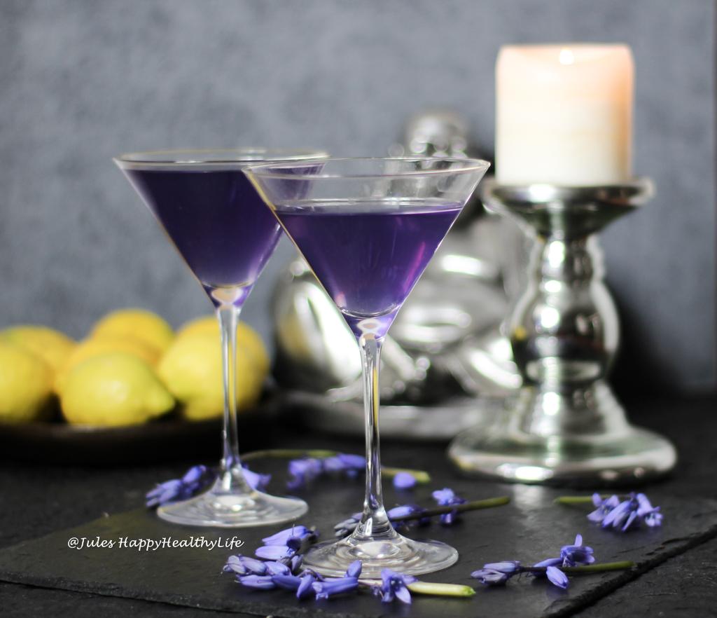 Lavender Vodka Cocktail with lavender health benefits