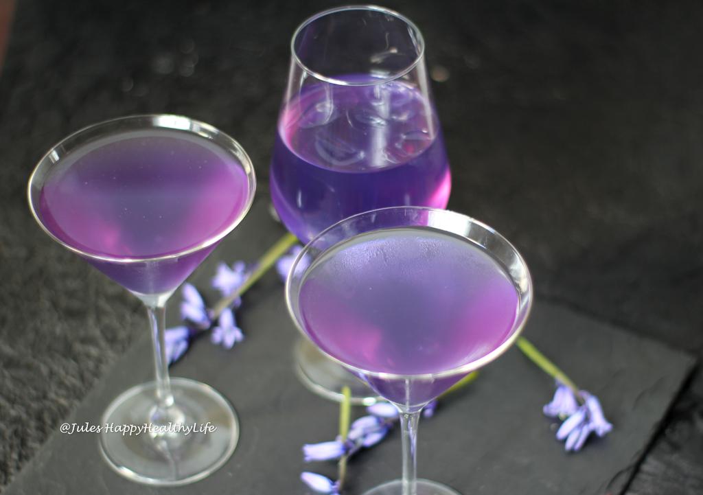 Lavender Vodka Cocktail calming