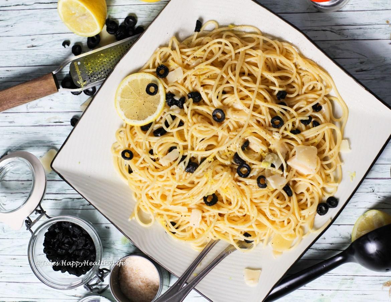 Rezept für Spaghetti mit Zitronensauce - Schnelles Rezept