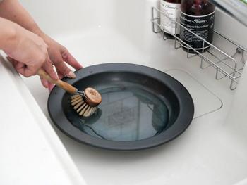 藤田金属/FRYING PAN JIUの洗い方